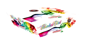 RA530118 Rainbow Ghost 500 Gram 195 shots Zipper cake