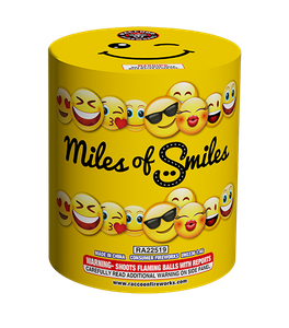 RA22519 Miles of Smiles 200Gram 13 Shots Cake