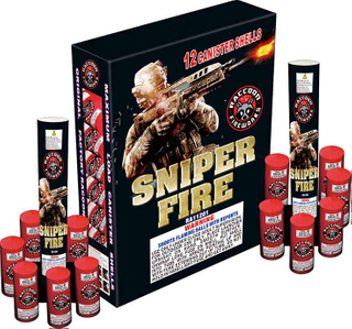 RA11201 60 Gram Large Canister Shell 6/12 Kit SNIPER FIRE