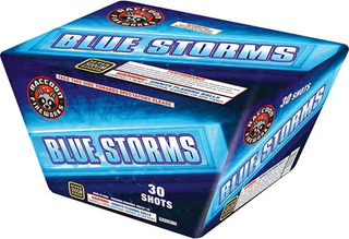 RA53019 BLUE STORMS 500 Gram 30 Shots Fan Cake