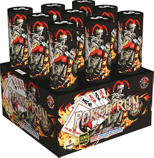 RA57210 Poker Run 500 Gram Super Large fFinale Shell Rack