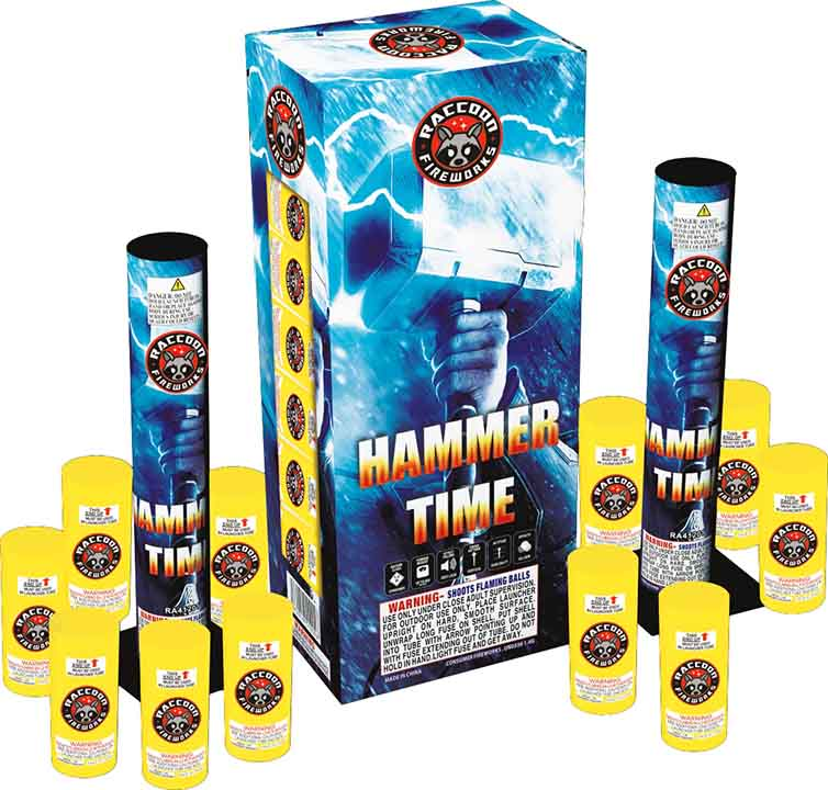 RA01201 33 Gram Canister Shell 12/12 Kit Hammer Time
