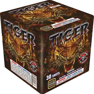 RA53027 TIGER 500 Gram 30 Shots Rectangle Cake