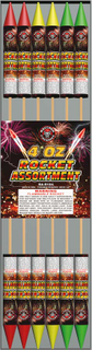RA-R104 4OZ Rocket Assortment