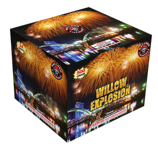 RA53631 Willow Explosion 500 Gram 24 Shots Cake